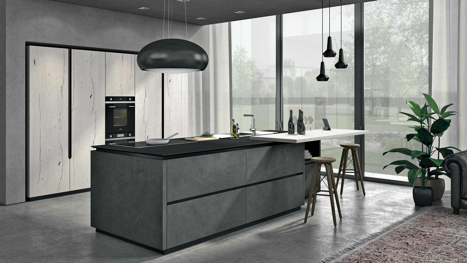 Oltre lube cucine punto arredo - Cucine moderne con isola lube ...